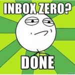 Inbox Zero: Freiheit in meinem Posteingang